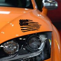 American Flag Styling Auto Car Bumper Window PET Decal Sticker Car Stikers Decor