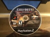 CALL OF DUTY 2 BIG RED ONE (PS2 PLAYSTATION 2) WORKS / NO TRACKING / DISC ONLY