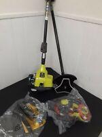 "RYOBI RY254BC  8"" 2-Cycle Full Crank Gas Brush Cutter FREE SHIPPING"