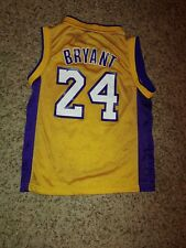 Kobe Bryant #24 Los Angeles Lakers Adidas NBA Youth Small Jersey