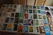 Huge Lot 60+ Assorted Greeting Cards with Envelopes