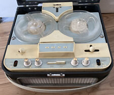 Lovely Vintage Retro 1961 Bush TP50 Reel to Reel Tape Recorder Spares or Repairs