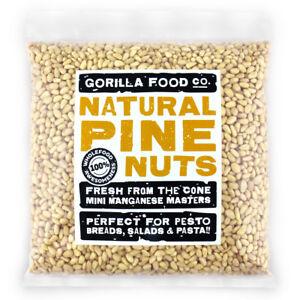 Gorilla Food Co. Natural Pine Nut Kernels - 100g-3.2kg