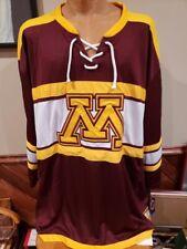 GORGEOUS Minnesota Gophers Adult Sz 5XL Colosseum Hockey Jersey, NEW&NICE!