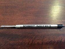 Schmidt Refill P 900 B. Black 3 Pack New. Ballpoint