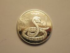 1/2 oz Silver Round .999 fine, 2013 Year of the Snake
