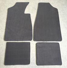 Fußmatten Autoteppiche für Lancia Delta 2 Grau 1993-1999 Velours 4tlg Neuware