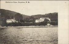 Greystone NH Fairhaven Farm c1910 Real Photo Postcard