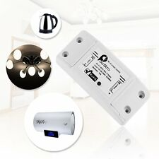 Sonoff Smart Remote Control Wireless Switch Modified ABS Shell Socket AC 90-250V