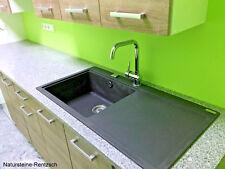 Küchenarbeitplatte Granitarbeitsplatte Steinplatte für Küche Outdoor-Küche grau