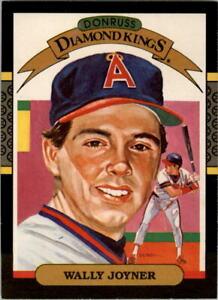 1987 Donruss Baseball Card Pick 1-247