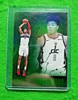 RUI HACHIMURA PRIZM GREEN ROOKIE CARD WIZARDS 2019-20 CHRONICLES ESSENTIALS RC