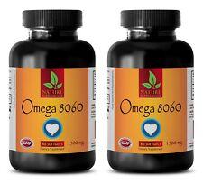 Fish Oil Sundown - OMEGA 8060 3000mg - Lower Cholesterol Levels 2B