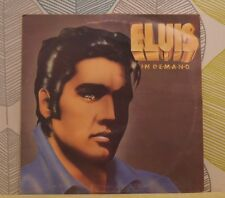 ELVIS PRESLEY - Elvis In Demand [Vinyl LP,1977] UK PL 42003 Rock Pop Mono *EXC