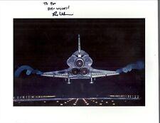 Sts-135 Astronaut Rex Walheim Autograph, Last Shuttle Landing