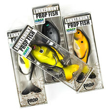 "LUNKERHUNT Prop Fish Hollow Body Topwater Lure 3.25"" 1/2oz - PICK"