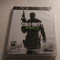 Call of Duty: Modern Warfare 3 (Sony PlayStation 3, 2011) complete CIB