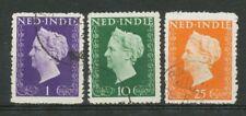 Nederlands Indië 344 - 346 gebruikt