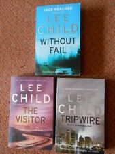 Lee Child (Jack Reacher) Paperback Books (Includes combination of 3)