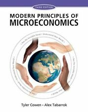 Modern Principles of Microeconomics by Tyler Cowen and Alex Tabarrok (2014,...