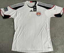 NEW YORK RED BULLS ADIDAS MLS RBNY PRE-GAME JERSEY MEN LARGE
