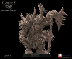 Avatars Of War 3D Printed miniature BigBoss orc 8