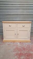 painted solid pine shaker sideboard with drawers/made to measure/farrow and ball