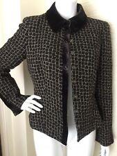 ARMANI COLLEZIONI Blazer Jacket Coat Women's Wool Blend Blazer 8 Italy