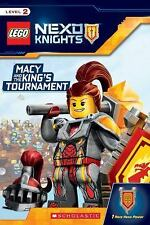 Macy and the King's Tournament (LEGO NEXO KNIGHTS: Reader): By Scholastic