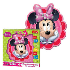 Trefl 8 Piece Baby Kids Infant Girls Disney Dreaming Minnie Mouse Jigsaw Puzzle