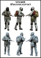 1/35 Resin Figure Model Kit Tuskmodel Stalker Biochemical Gas Mask Unpainted