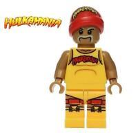 Hulk Hogan WWF WWE Wrestling Minifigure Figure Custom Minifig 151