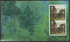 (TOT1) GB QEII Stamps TREASURY OF TREES Prestige Booklet Pane ex DX26 2000
