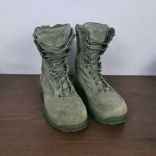 Danner USAF TFX 26117 Suede Sage Military Boots USA Men's 6 D / EU 39 EUC!!!