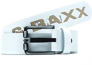 Cipo & Baxx Men's Belt Real Leather Streetwear Discowear Leisure