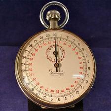 a29b24afff9 Hanhart cronómetro. vintage 40 década de años con garantía