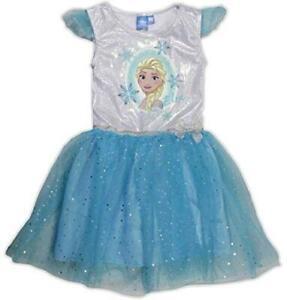 Official Licensed Disney Frozen Queen Elsa Girls Summer Dress