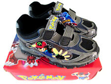 POKEMON GO  SHOES 1 GREY/ BLACK  OFFICIAL 2006 TAG!!  BRAND NEW!!
