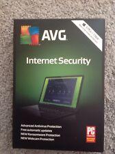 New Sealed avg internet security