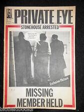 PRIVATE EYE - Vintage Satirical Political News Humour Magazine - 4th April 1975