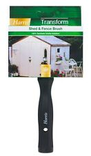 Harris Transform 100% Synthetic Wood Timber Garden Shed & Fence Paint Brush - 5""