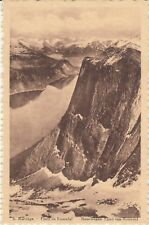 OLD POST CARD NORVEGE NORWAY NORGE Fjord de Romsdal édition chocolat Martougin