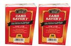 Внешний вид - 100 Ct Card Saver I Cardboard Gold PSA Graded Semi Rigid Holders CS1 - Free Ship