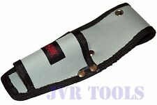 "Tool Pouch Belt Accessory Holder 3"" x 8"" For Utility Knife, Pliers, and Mor"