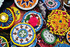 Wholesale Lot 10 Kuchi Afghan Banjara Tribal ATS Belly Dance Beaded medallion M