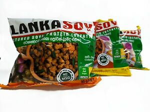 LANKA SOY VEGETARIAN SOYA MEAT CURRY FLAVOR CBL PRODUCTS CEYLON PROTEIN FOOD