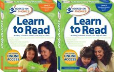 Hooked on Phonics Learn to Read First Grade Levels 5 & 6 Sealed +Bonus Word Book