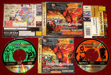 *Complete* Sega Saturn Game DUNGEONS & DRAGONS COLLECTION NTSC-J Japan Import