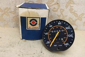NOS AC Delco Speedometer 140MPH / 220KMH VAUXHALL BEDFORD OPEL TRIUMPH # 9973569