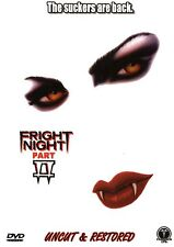 Fright Night 2 , uncut & restored , DVD , new , import release , out of print